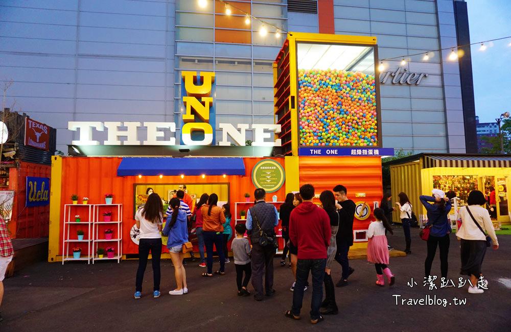 台中西屯景點》UNO市集:全台最大櫃屋市集*遇見一種城市裡的小清新的文青風,每一間貨櫃角落都很好取景,台中IG打卡景點。