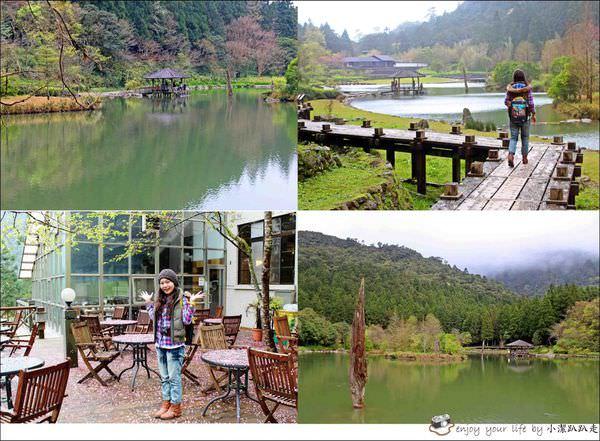 宜蘭旅遊景點》明池森林遊樂園區,簡直是美如仙境,怎麼拍都像明信片般的風景畫~