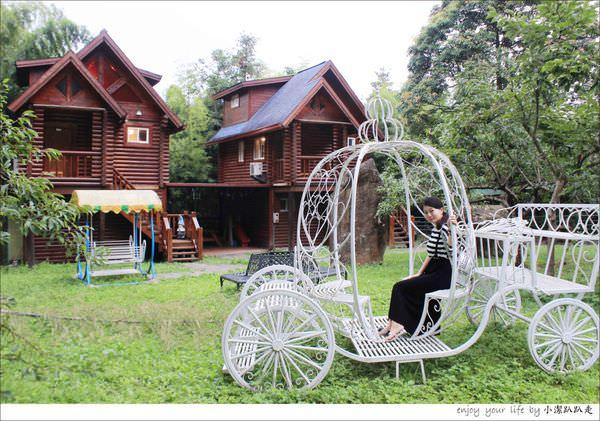 南投民宿》金台灣山莊原木木屋~無敵山景就在眼前,住在這裡真的就像住在森林裡吧!