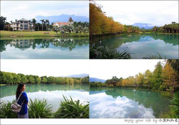 花蓮必遊景點》雲山水夢幻湖與落羽松森林,張張都像明信片、超好拍!