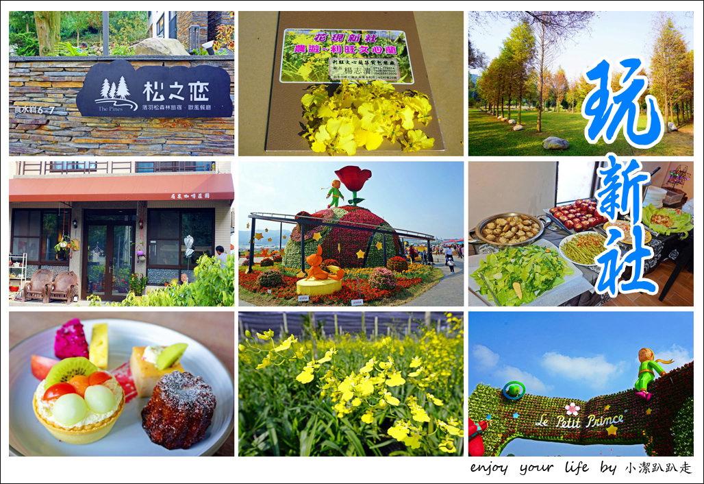 台中新社景點一日遊》花現秘境一日遊:台中國際花毯節、松之戀落羽松祕境、眉泉咖啡莊園、利旺文心蘭花園