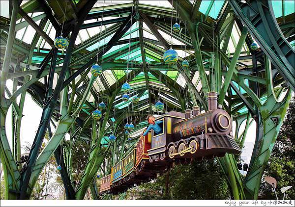 宜蘭一日遊景點》幾米廣場公園+飛天火車+綠鐵樹丟丟噹森林,來一趟充滿幾米的宜蘭童話之旅吧~