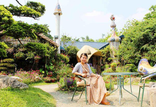 【南投】美麗世外桃源~城市中的歐洲異國建築,花團錦簇庭園‧松濤園